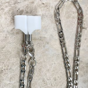Silver Chain Holder for AirPods